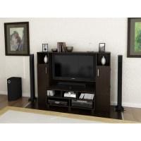 Redvale Espresso Home Entertainment Center for TVs up to ...
