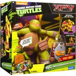 Ninja Turtle Chair Toys R Us Upholstered Folding Teenage Mutant Turtles Remote Control Skateboarding Mikey Walmart Exclusive Com