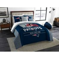 "NFL New England Patriots ""Draft"" Bedding Comforter Set ..."