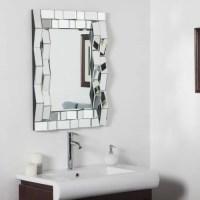 Iso Modern Bathroom Wall Mirror - 24W x 32H in. - Walmart.com