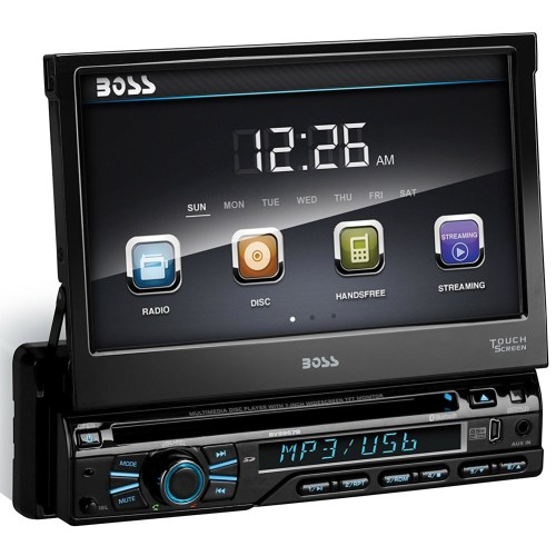 small resolution of boss audio bv9979b single din dvd cd receiver with 7 digital tft monitor and bluetooth