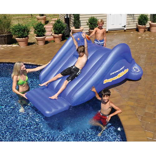 Super Slide Inflatable Pool Toy Walmart