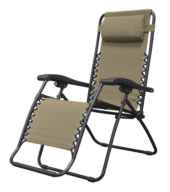 xl zero gravity chair with canopy footrest bedroom caravan sports multiple colors walmart com