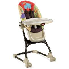 Elephant High Chair Target Fold Up Chairs Fisher Price Ez Clean Luv U Zoo Walmart Com