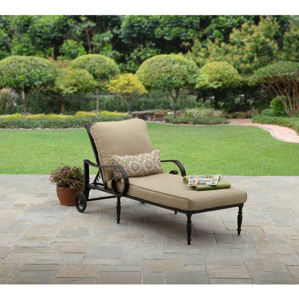 Homes & Gardens Englewood Heights Ii Aluminum Outdoor Chaise Lounge