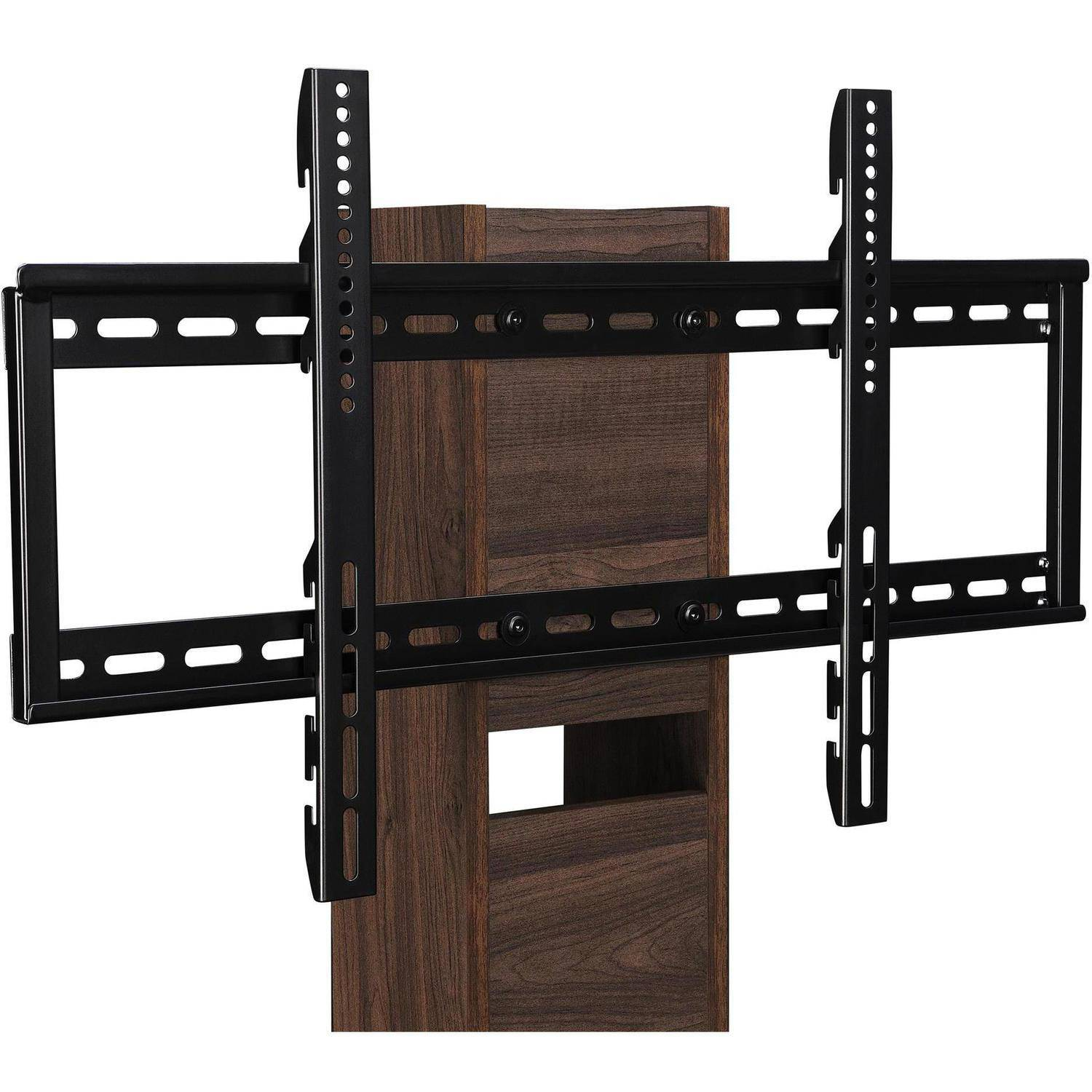 ameriwood home galaxy tv stand with mount for tvs up to 50 black walmart com