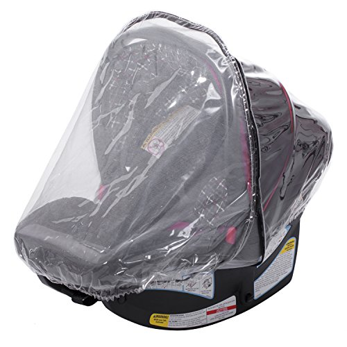 Infant Carrier Car Seat Rain & Weather Sheild Cover 2in1