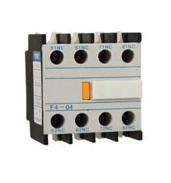 unique bargains contact relay auxiliary 4 nc contactor circuit breaker walmart com [ 1100 x 1100 Pixel ]
