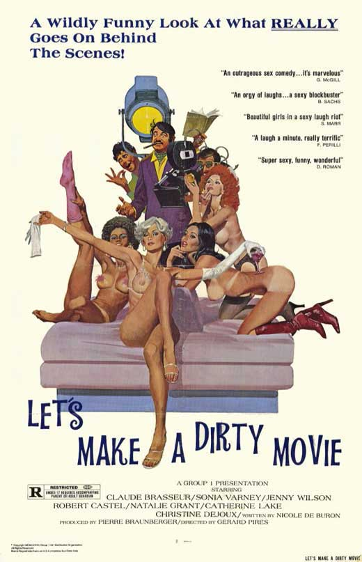 let s make a dirty movie movie poster style a 11 x 17 1976