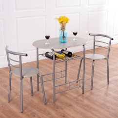 Pub Table And Chairs 3 Piece Set 2 Chair Design Timeline Costway Dining Bistro Home Kitchen Breakfast Furniture Walmart Com