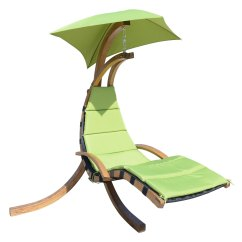Swing Chair With Stand Outdoor Grey Crushed Velvet Bedroom Outsunny Hanging Sky W Green Walmart Com