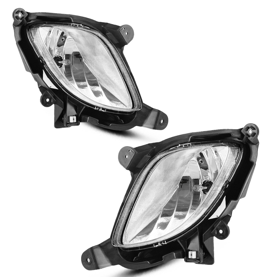 hight resolution of for 2010 2012 hyundai genesis coupe clear bumper fog light lamps w wiring switch 1 year warranty walmart com