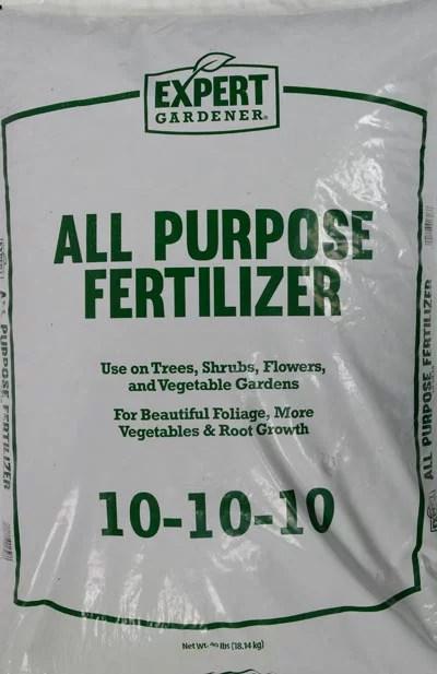 Expert Gardener 10 10 10 All Purpose Fertilizer 40lb 2 Pack Walmart Com Walmart Com