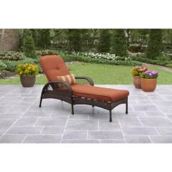 Lounge Outdoor Chairs 8 Chair Round Table Better Homes Gardens Azalea Ridge Chaise Walmart Com