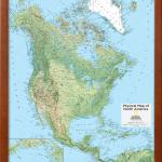 2014 North America Physical National Geographic Atlas Of The World 10th Edition Framed Print Wall Art By National Geographic Maps Walmart Com Walmart Com