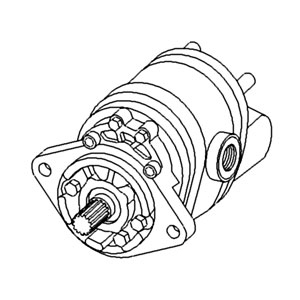 A & I Products Pump, Hydraulic (SN5284>) Replacement for