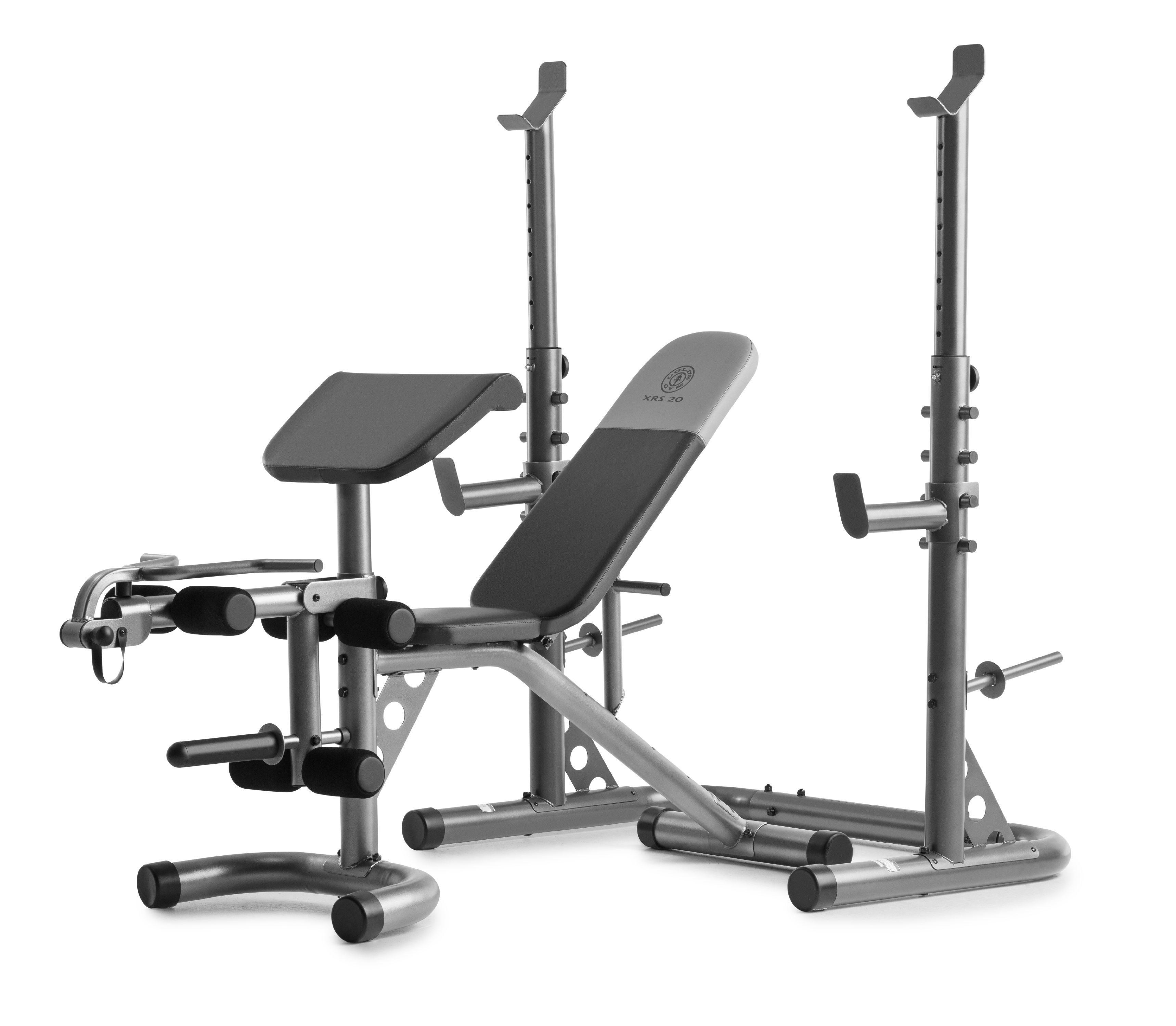 Gold S Gym Xrs 20 Adjustable Olympic Workout Bench With
