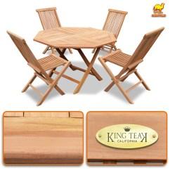 Foldable Table And Chairs Garden Pink Student Desk Chair King Teak 4 Piece Golden Wood Folding 1 Furniture Set Walmart Com