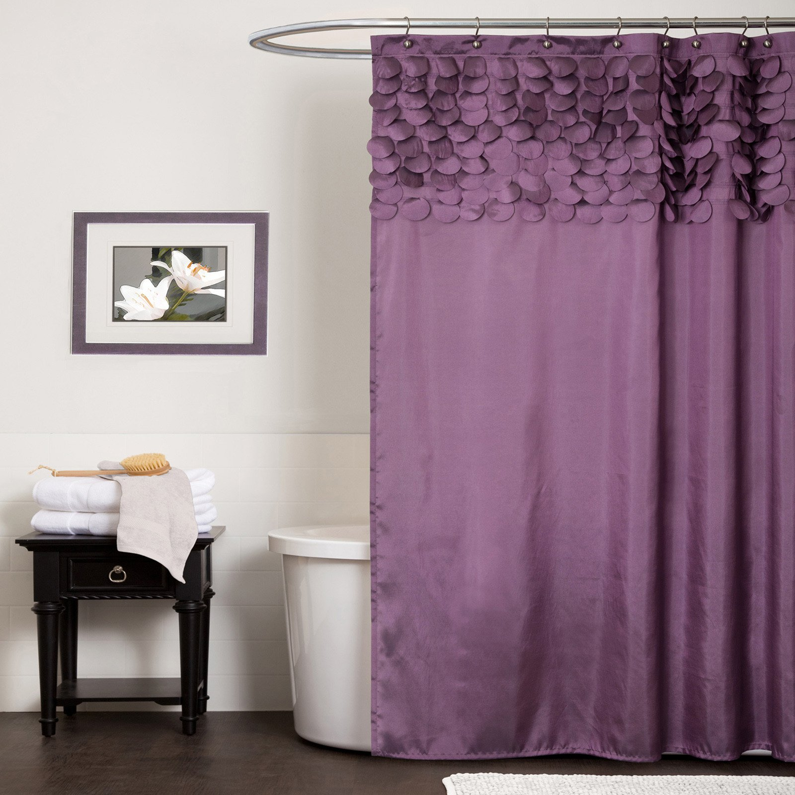 Lillian Shower Curtain Walmart Com