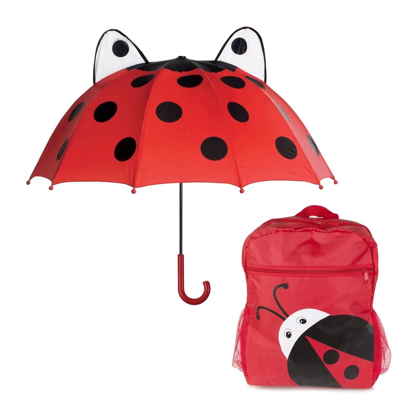 ladybug kids rainy day
