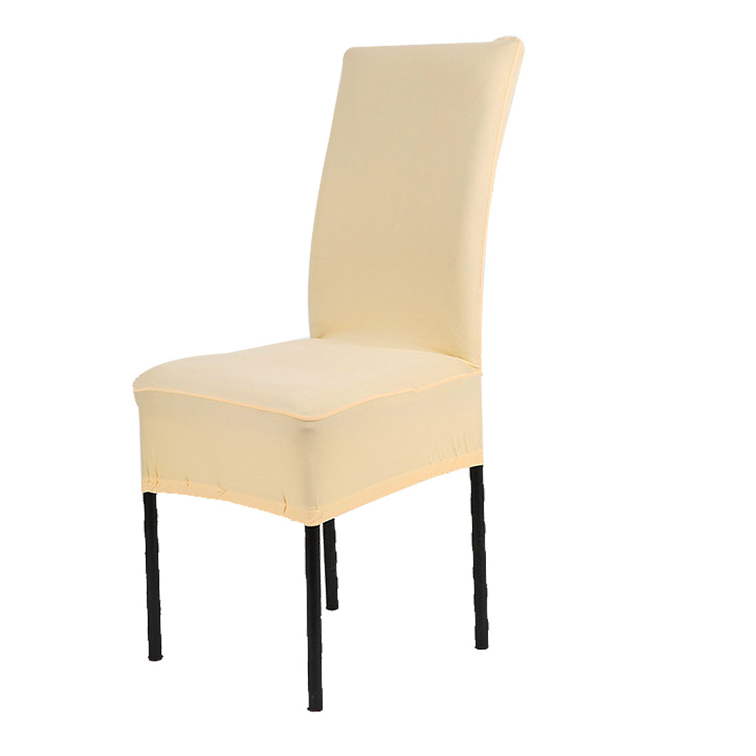 light blue dining chair covers floating for lake unique bargains spandex fabric stretch short removable