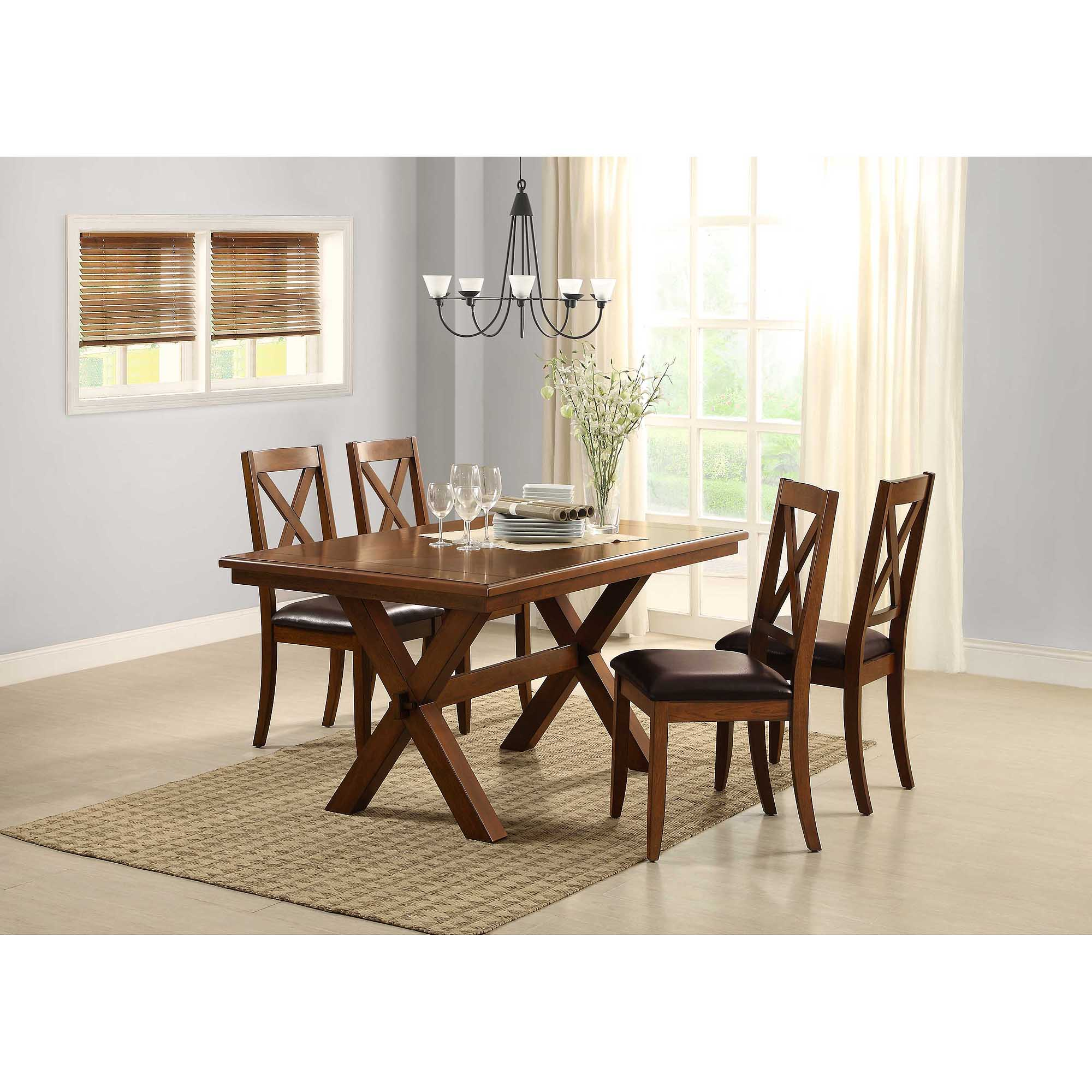 walmart table and chair sets outdoor teak chairs better homes gardens maddox crossing dining com