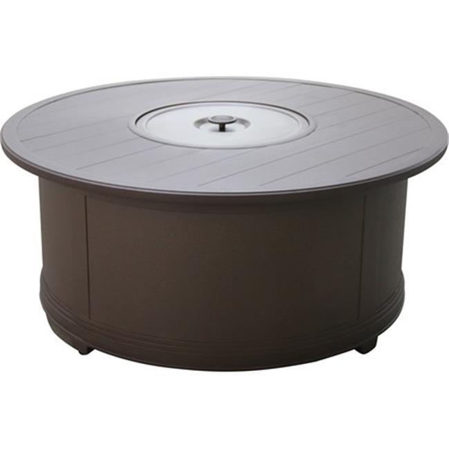 portica f8748rd 01 slpn slats outdoor 48 in round fire pit table
