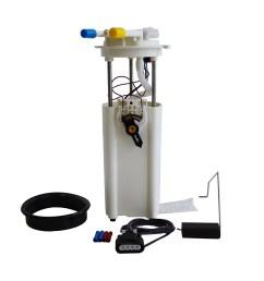 quantum fuel pump module assembly gmc yukon 1998 2000 e3972m walmart com [ 1500 x 1481 Pixel ]