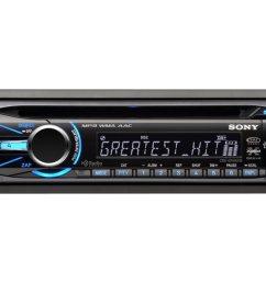 sony cdx gt54uiw car cd receiver in dash full din 52 watts x 4 walmart com [ 1024 x 768 Pixel ]