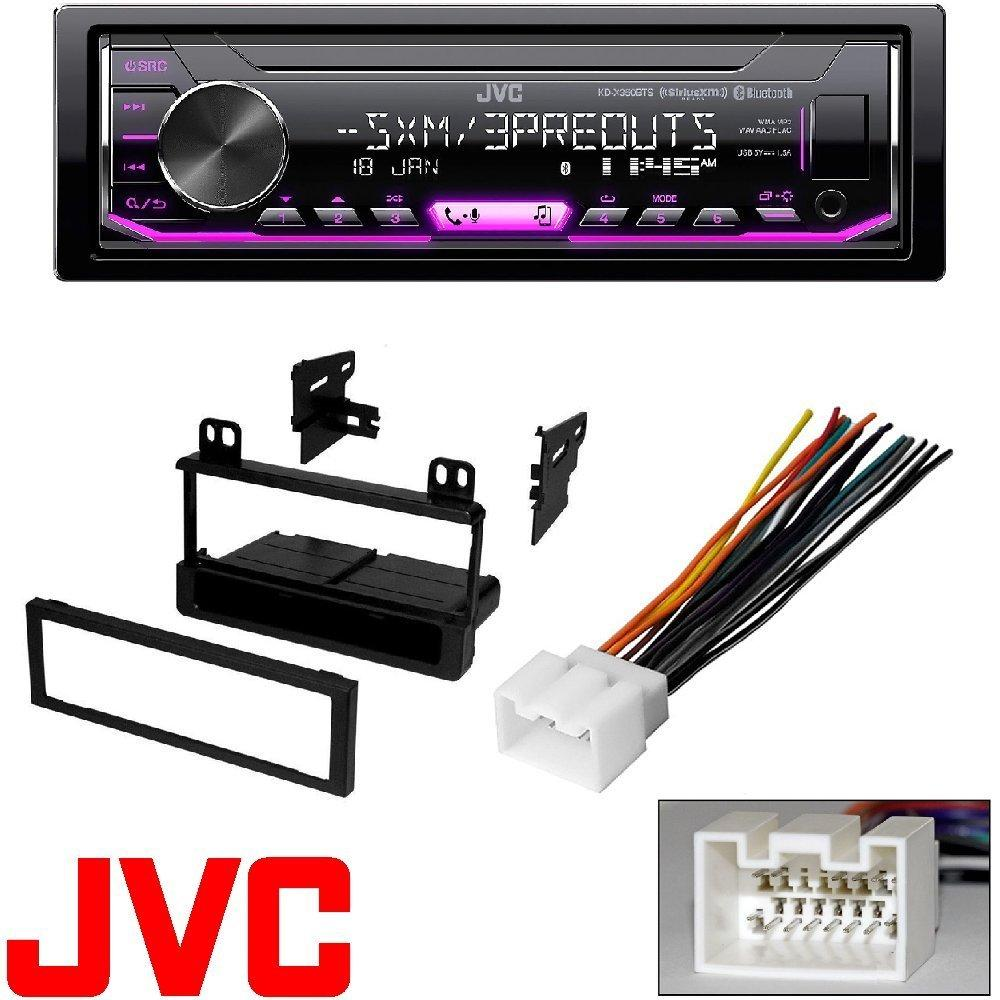 medium resolution of jvc kd x350bts 1 din car digital media bluetooth receiver usb iphone 5 4 ford wiring harness iphone ford wiring harness kits