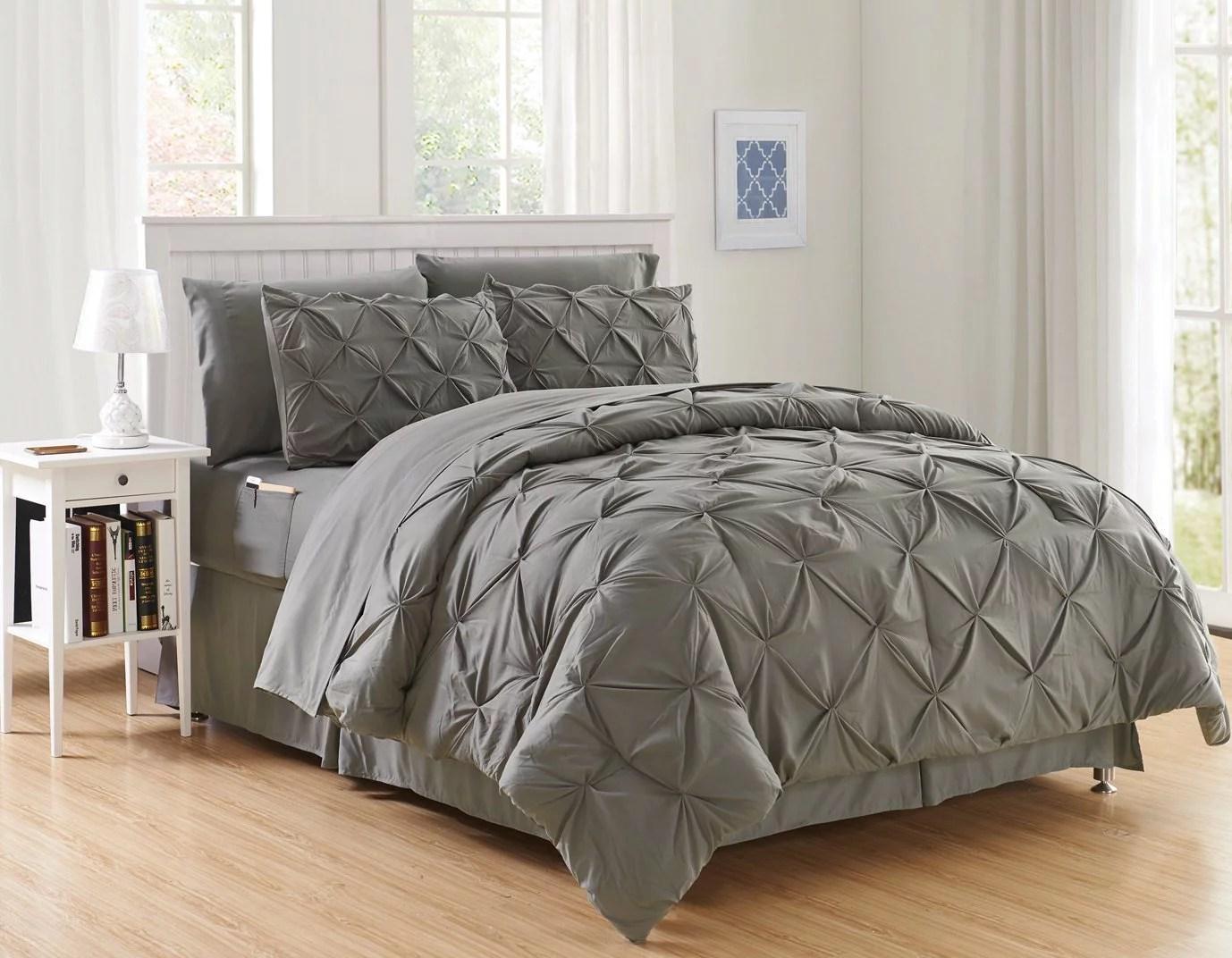 cottonight gray comforter sets twin