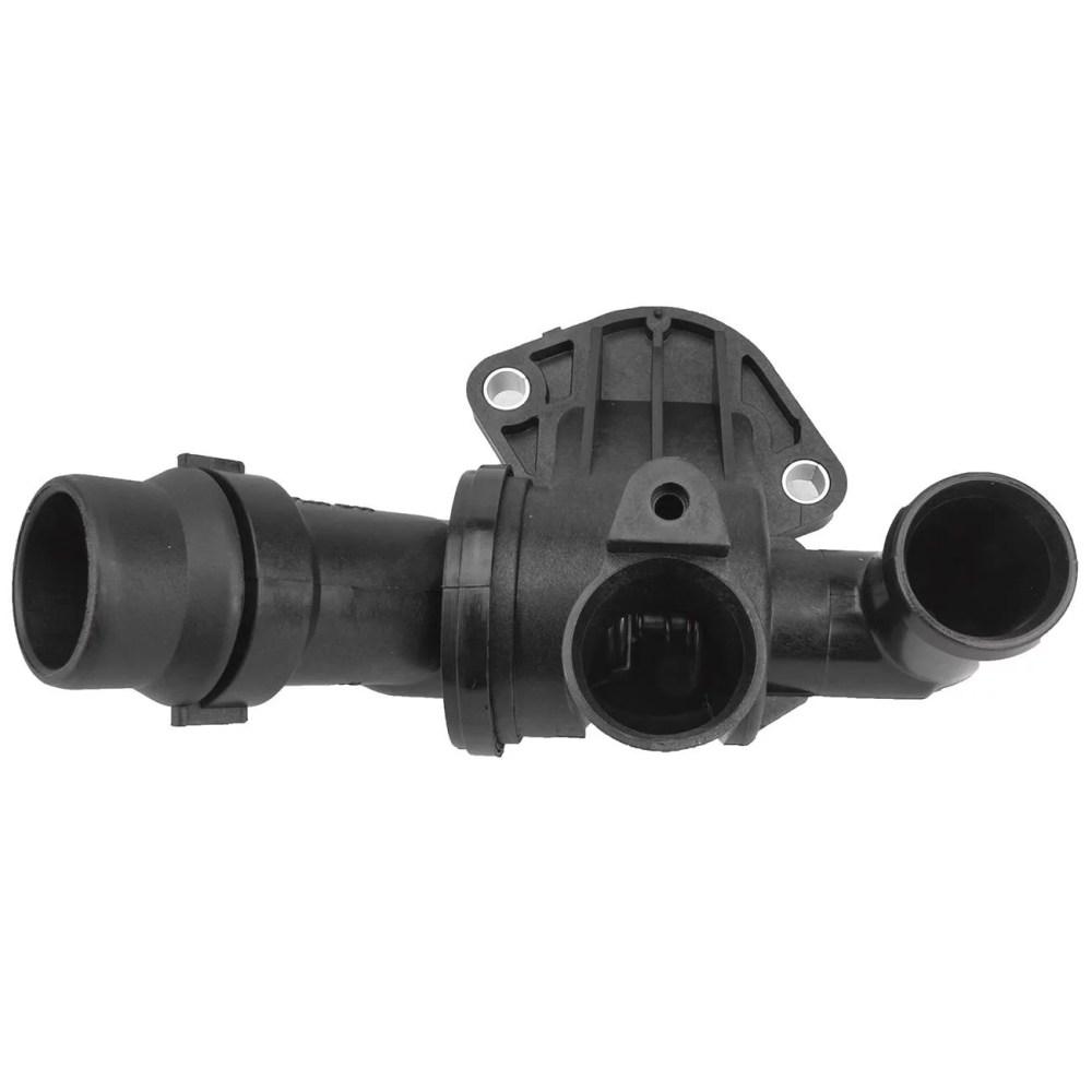 medium resolution of topaz 06d121111g engine coolant thermostat housing for audi a4 a4 quattro walmart com