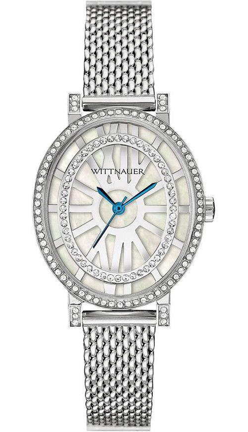 Wittnauer Women's WN4038 Silver Stainless-Steel Analog Quartz Fashion Watch