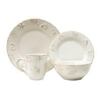 Thomson Pottery Hampton 16 Piece Dinnerware Set, Service ...
