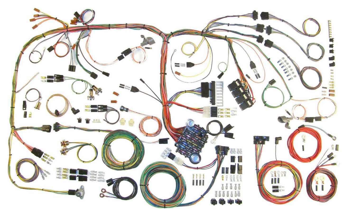 hight resolution of american autowire wiring system challenger 1970 74 kit p n 510289 walmart com