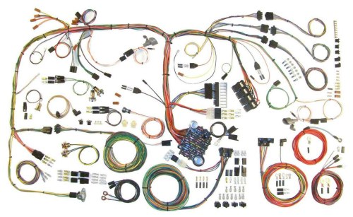 small resolution of american autowire wiring system challenger 1970 74 kit p n 510289 walmart com