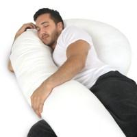 Full Body Pillow - C Shaped Body Pillow for Men and Women ...