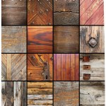 Antique Shower Curtain Assortment Of Different Wooden Architecture Elements Timber Door Key Print Fabric Bathroom Set With Hooks Chocolate Brown