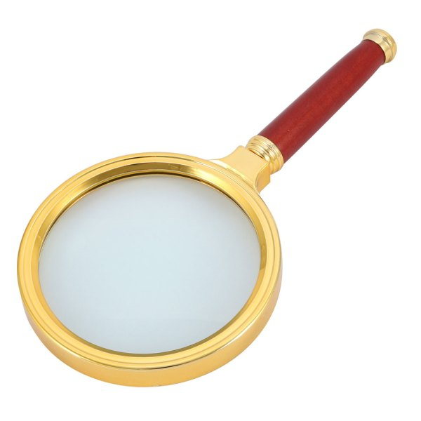 Rosewood Handheld 10x Magnifier Magnifying Glass Illuminated