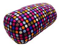 Microbead Cushie Roll Pillow Small Dot Pattern - Walmart.com