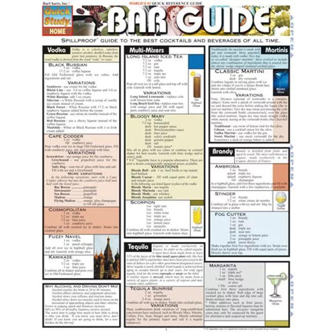 Barcharts Inc 9781572226142 Bar Guide