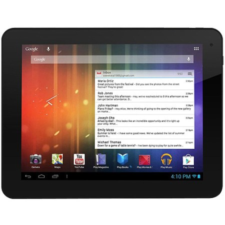 """Ematic EGS108 8"""" Genesis Prime Multi-Touch Tablet, 4GB, Android 4.1, Black"""