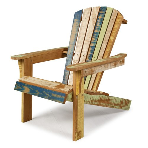 distressed adirondack chairs 50s kitchen table and highland dunes charlize reclaimed solid wood chair walmart com