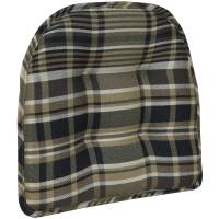 Plaid Chair Pad - Walmart.com