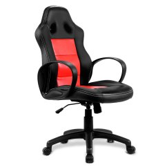 Desk Chair High Double Papasan Frame And Cushion Costway Back Race Car Style Bucket Seat Office Gaming Red Walmart Com