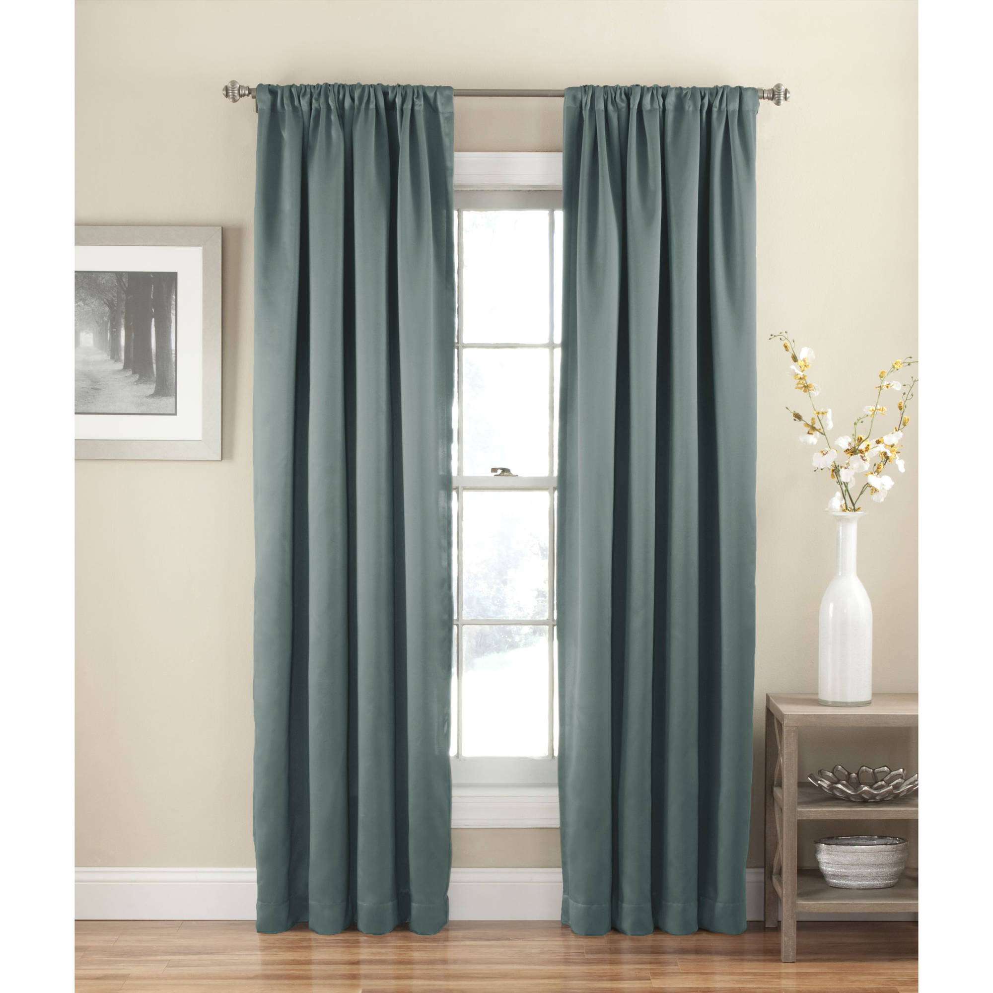 Eclipse Arbor Blackout Window Curtain Panel  Walmartcom