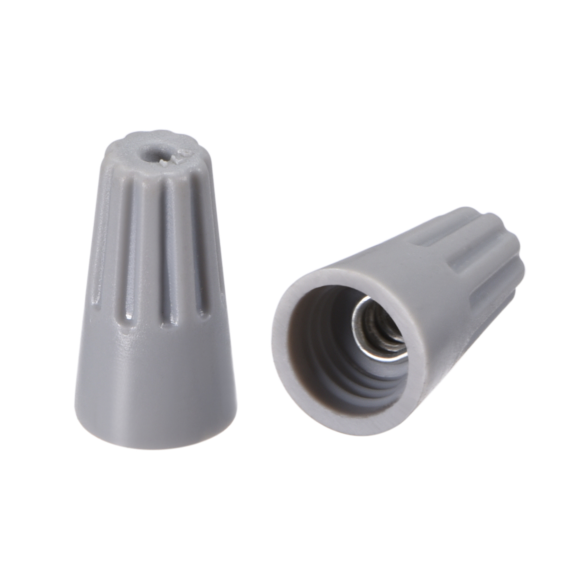 wire nuts electrical connectors twist nut caps terminals gray 30 pcs wire nut color size chart wire nut cover [ 2000 x 2000 Pixel ]