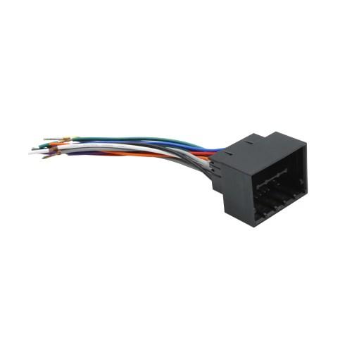 small resolution of dc 12v car female dvd radio wire harness adapter connector plug for chevrolet cruze walmart com