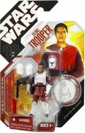 Clone Trooper Action Figure Training Clothes Star Wars Walmart Com Walmart Com