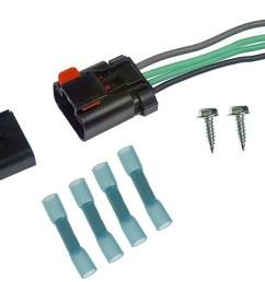 902 303 radiator fan relay kit new repair relay 19982004 dodge for chrysler wire [ 1500 x 771 Pixel ]